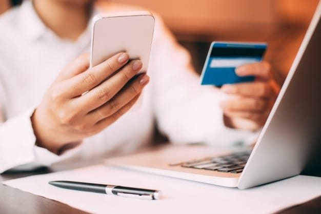 Do not save the information of your credit card online