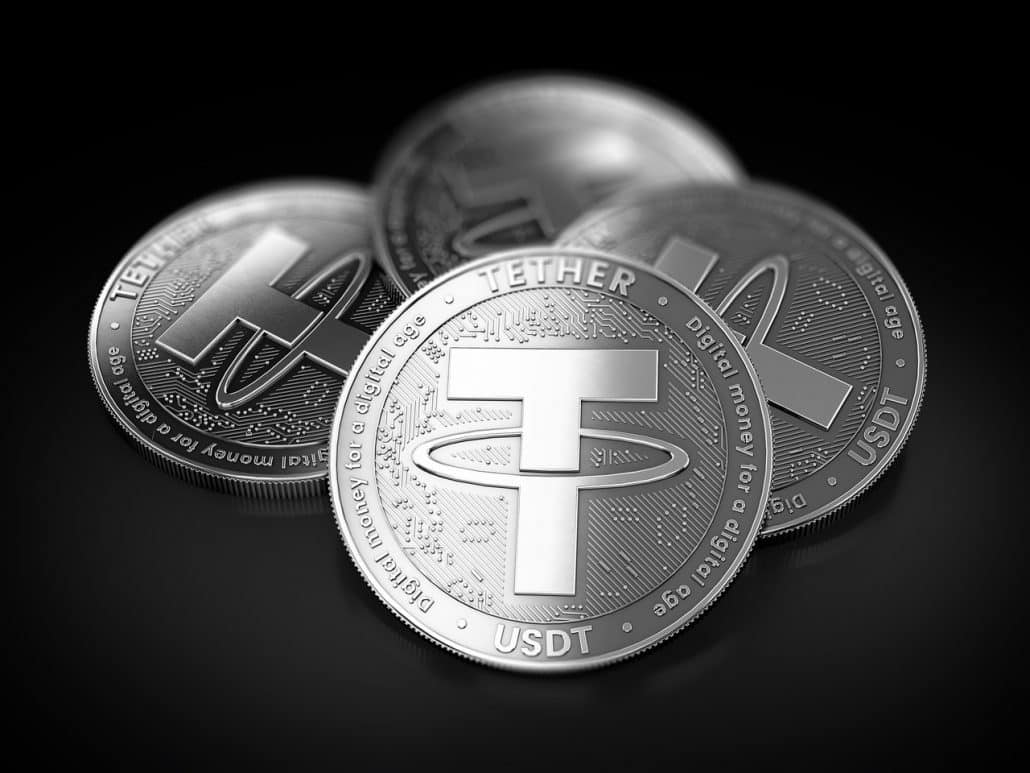 Silver Tether coin
